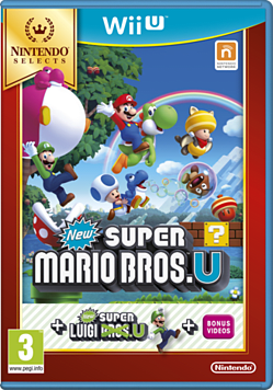 New Super Mario Bros. U + New Super Luigi U (Nintendo Selects)Wii-U