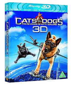 Cats And Dogs 2: The Revenge Of Kitty Galore 3D (3D Blu-Ray) (C-U)Blu-ray