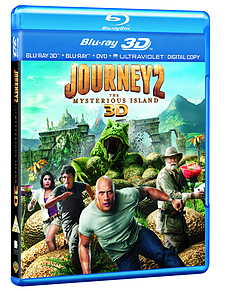 Journey 2: Mysterious Island 3D Bd (3D Blu-Ray) (PG )Blu-ray