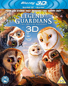 Legend of the Guardians (Blu-ray 3D + Blu-ray) (C-PG)Blu-ray