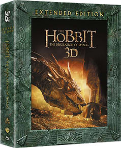 The Hobbit - Desolation Of Smaug Extended Edition (3D Blu-Ray + Blu-Ray) (C-12)Blu-ray