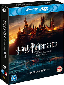Harry Potter And The Deathly Hallows Parts 1 And 2 3D (C-12)Blu-ray