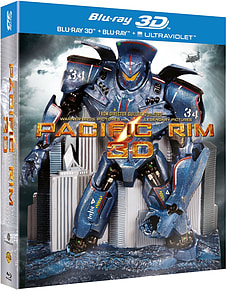 Pacific Rim - Limited Edition Robot Pack (3D + 2D Blu-Ray)Blu-ray