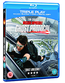 Mission Impossible: Ghost Protocol - Triple Play (2 Discs) (Blu-Ray) (C-12)Blu-ray