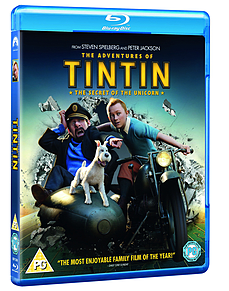 The Adventures Of TinTin: Secret Of The Unicorn (Blu-Ray) (C-PG)Blu-ray