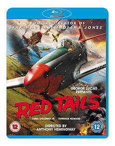 Red Tails (Blu Ray) Cuba Gooding Jr., Terrence Howard, Bryan Cranston (C-12)Blu-ray