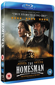 The Homesman (Blu-ray) Tommy Lee Jones & Hilary Swank (C-15)Blu-ray