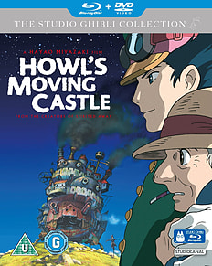 Howl's Moving Castle (Blu-Ray) Studio Ghibli (C-U)Blu-ray