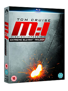 Mission Impossible Ultimate Trilogy Box Set (3 Discs) (Blu-Ray) (C-15)Blu-ray