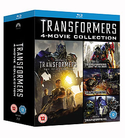 Transformers 1-4 Box Set (Blu-Ray) (C-12)Blu-ray
