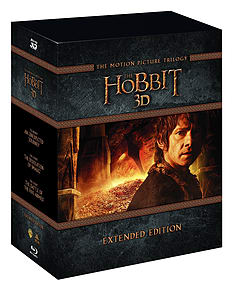 The Hobbit Trilogy Extended Edition Boxset (3D + 2D Blu-ray)Blu-ray