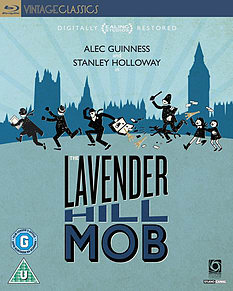 The Lavender Hill Mob (60th Anniversary) (Blu-Ray) (C-U)Blu-ray