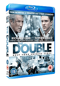 The Double (Blu-Ray) Richard Gere, Topher Grace, (C-15)Blu-ray