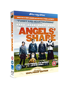 The Angels' Share (1 Disc Blu-ray) Ken Loach (C-18)Blu-ray