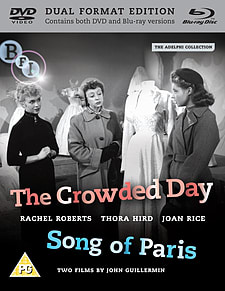 Adelphi Collection Vol 3: The Crowded Day /Song Of Paris (Blu-ray & DVD) (C-PG)Blu-ray