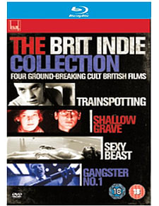 Brit Indie Collection: Trainspotting, Shallow Grave, +2 more (Blu-Ray) (C-18)Blu-ray