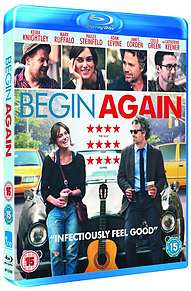 Begin Again (Blu-Ray) Keira Knightley, Mark Ruffalo, Adam Levine (C-15)Blu-ray