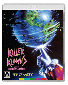 Killer Klown From Outer Space (DVD + Blu-ray) (C-18)Blu-ray