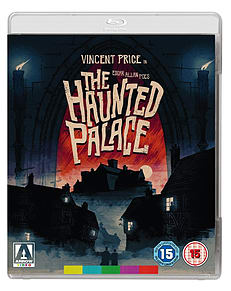 The Haunted Palace (Blu Ray) Roger Corman, Vincent Price (C-15)Blu-ray