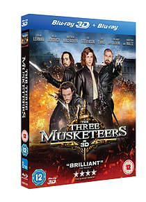 The Three Musketeers 3D(2 Disc Blu-ray) Milla Jovovich, Orlando Bloom (C-12)Blu-ray