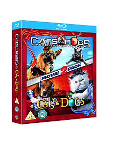 Cats And Dogs / Cats And Dogs 2: The Revenge Of Kitty Galore (Blu-Ray) (C-PG)Blu-ray