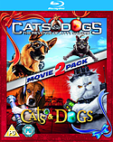 Cats And Dogs / Cats And Dogs 2: The Revenge Of Kitty Galore (Blu-Ray) (C-PG) screen shot 1