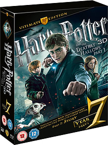 Harry Potter And The Deathly Hallows: Part 1 - Ultimate Edition (C-12)Blu-ray