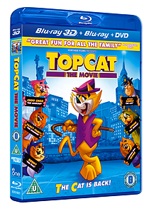 Top Cat: The Movie (With DVD) (2 Disc Blu-ray) (U )Blu-ray