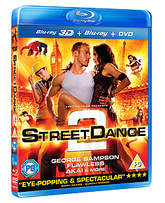 StreetDance 2 3D (3D/2D Blu-ray & DVD) George Sampson, Flawless, (PG )Blu-ray