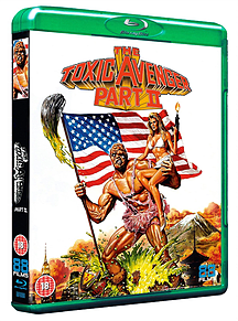 The Toxic Avenger Part II (Blu-Ray) (2) (C-18)Blu-ray