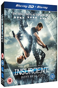 The Divergent Series -Insurgent (2D & 3D) (Blu Ray) Shailene WoodleyBlu-ray
