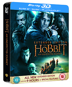 The Hobbit: An Unexpected Journey Extended Edition Steelbook (C-12)Blu-ray