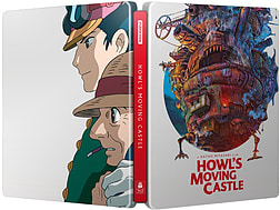 Howl's Moving Castle Steelbook (Blu-ray & DVD) Studio Ghibli (C-U)Blu-ray