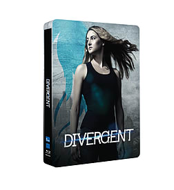 Divergent (Entertainment Store Exclusive Blu-Ray Steelbook) (C-12)Blu-ray