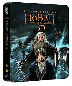 The Hobbit: The Battle Of The Five Armies Extended Ed. Steelbook (Blu-ray)Blu-ray