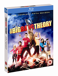 The Big Bang Theory: Season 5 (with UltraViolet) (2 Discs) (Blu-Ray) (C-12)Blu-ray