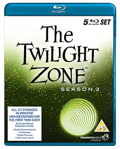 The Twilight Zone: Season 3 Box Set (4 Discs) (Blu-Ray)Blu-ray