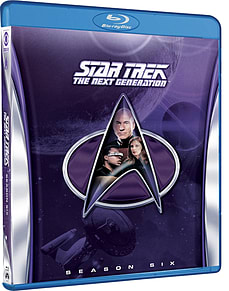 Star Trek: The Next Generation: Season 6 (Remastered) (Blu-ray) (C-12)Blu-ray