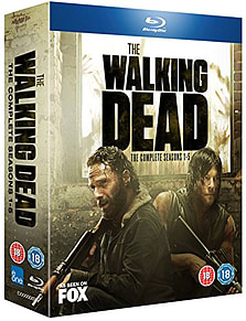 The Walking Dead Seasons 1-5 BoxsetBlu-ray