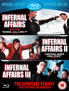 Infernal Affairs - The Complete Trilogy (Blu-Ray) (C-15)Blu-ray