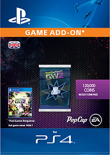120,000 Modest Coins Pack - Plants vs. Zombies™ Garden Warfare 2 for PS4