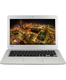 Toshiba 13.3 Inch 16GB Chromebook - Silver.Laptops