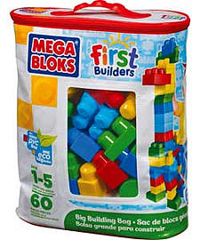Mega Bloks First Builders Big Building Bag.Blocks and Bricks