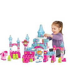 Mega Bloks Lil Princess Crystal Castle.Blocks and Bricks