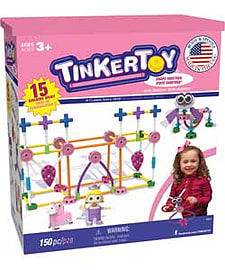 KNEX Tinkertoy Pink Set.Blocks and Bricks