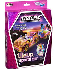 Lite Brix Sports Car.Blocks and Bricks