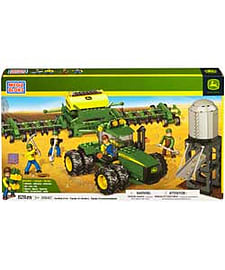 Mega Bloks John Deere Seeding Crew.Blocks and Bricks