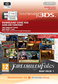 Fire Emblem Fates: Map Pack 1 2DS/3DS