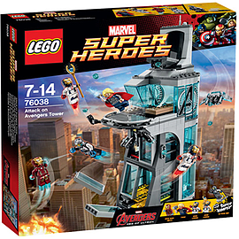 LEGO Super Heroes Avengers Attack on Avengers Tower 76038Blocks and Bricks