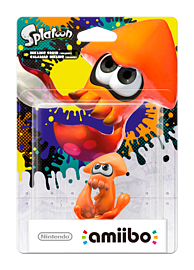 Inkling Squid Alternative - amiibo - Splatoon CollectionAmiiboCover Art